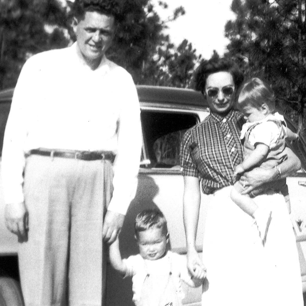 1957 Daphne & Wilson in Alma Georgia