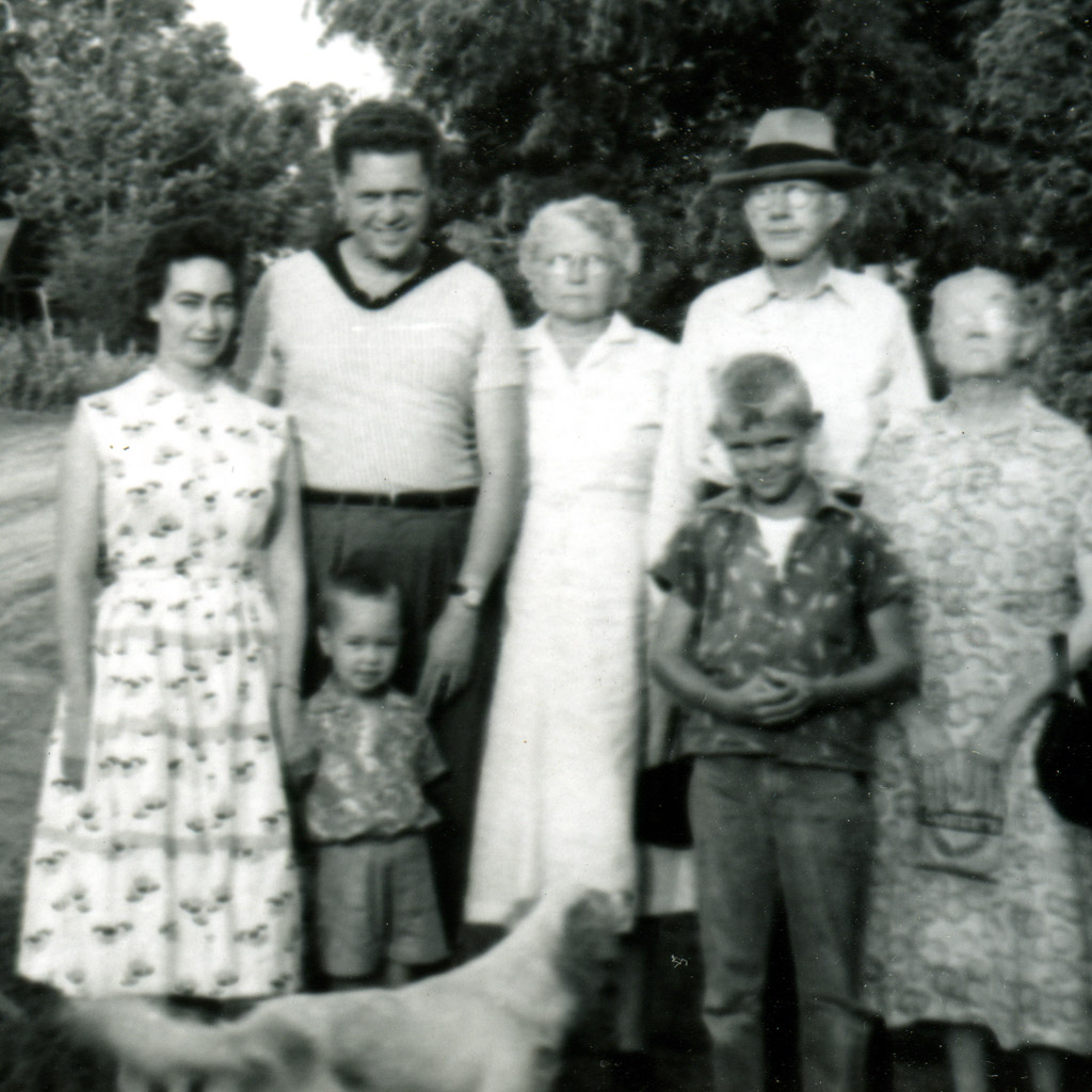 1958 Daphne And Wilson with Alvia and Shaun