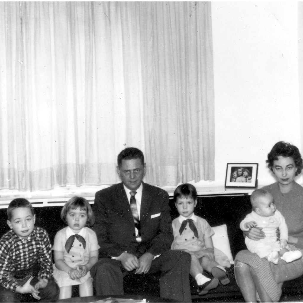 1959 Family Portrait in Frankfurt