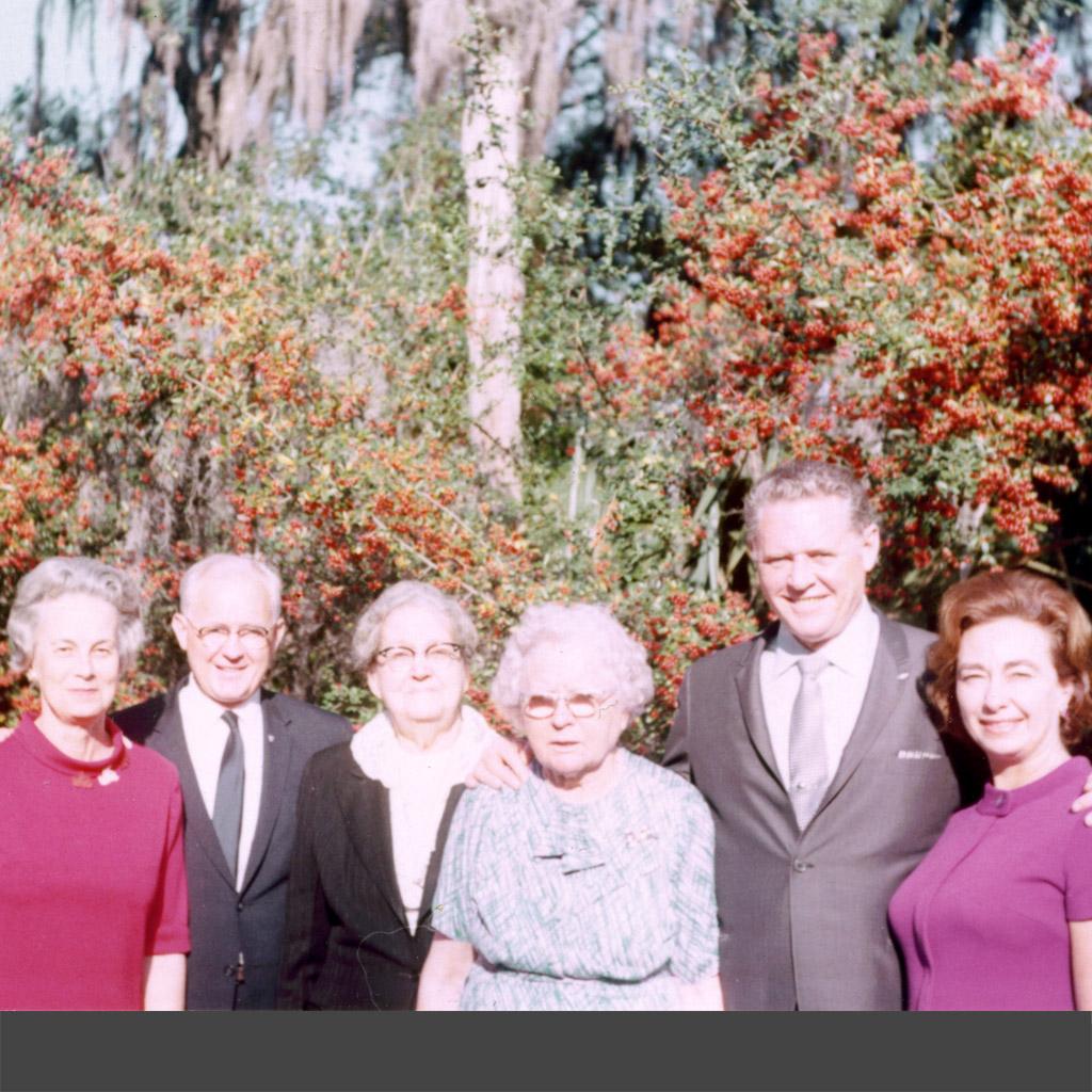 1968 Margaret, Osmah, Darsie, Alvina, Wilson & Daphne