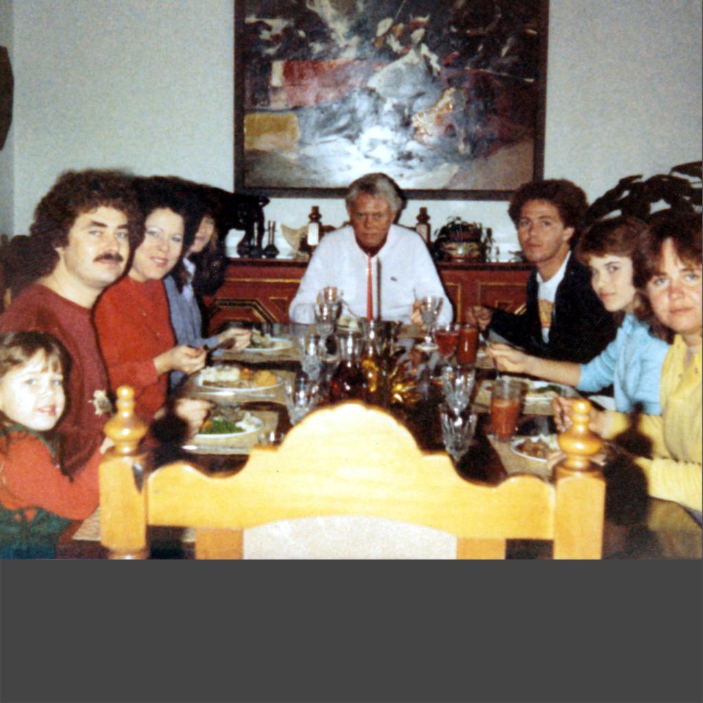 1985 Family Dinner in Jacksonville