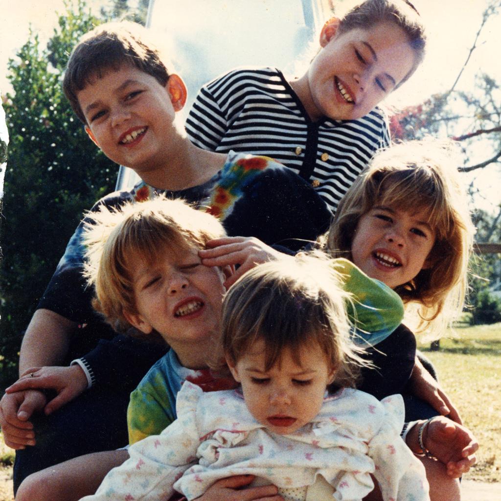 1988 Daphne's Grandchilderen Sasha Brandon Carley Troy Mattie
