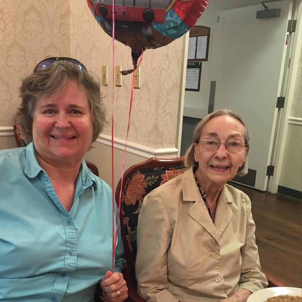 2016-05-21 Daphne's Birthday with Karen.