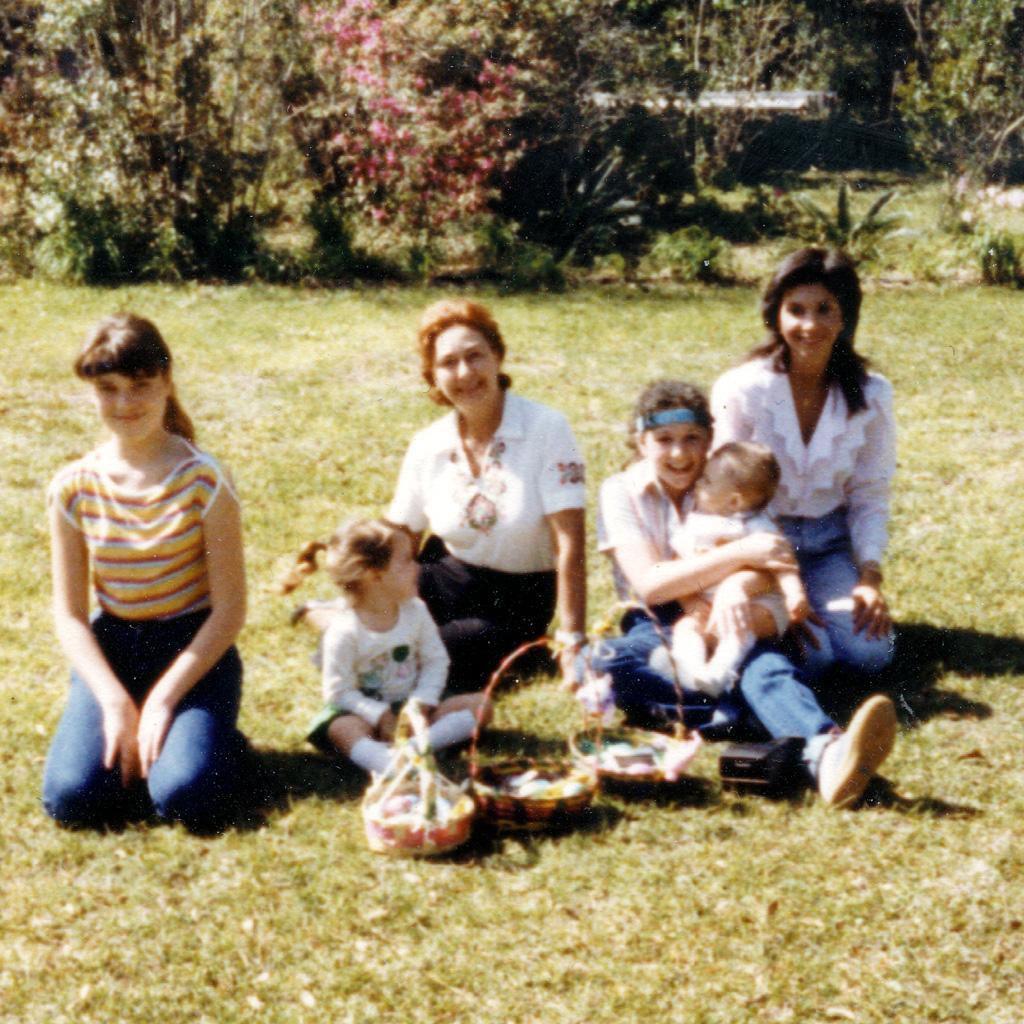 April 1983 Daphne Easter egg hunt