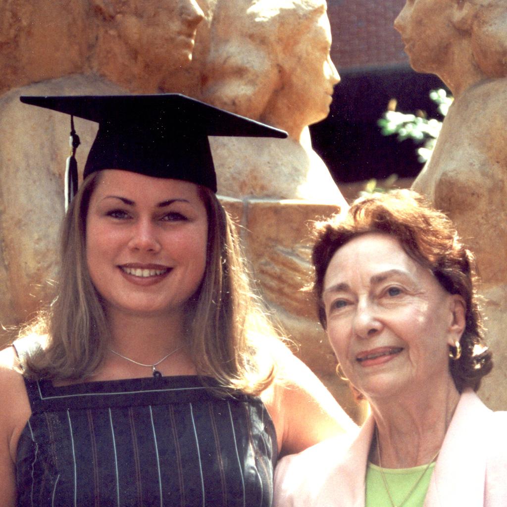 May 2002 Daphne at Sasha's UF Gaduation