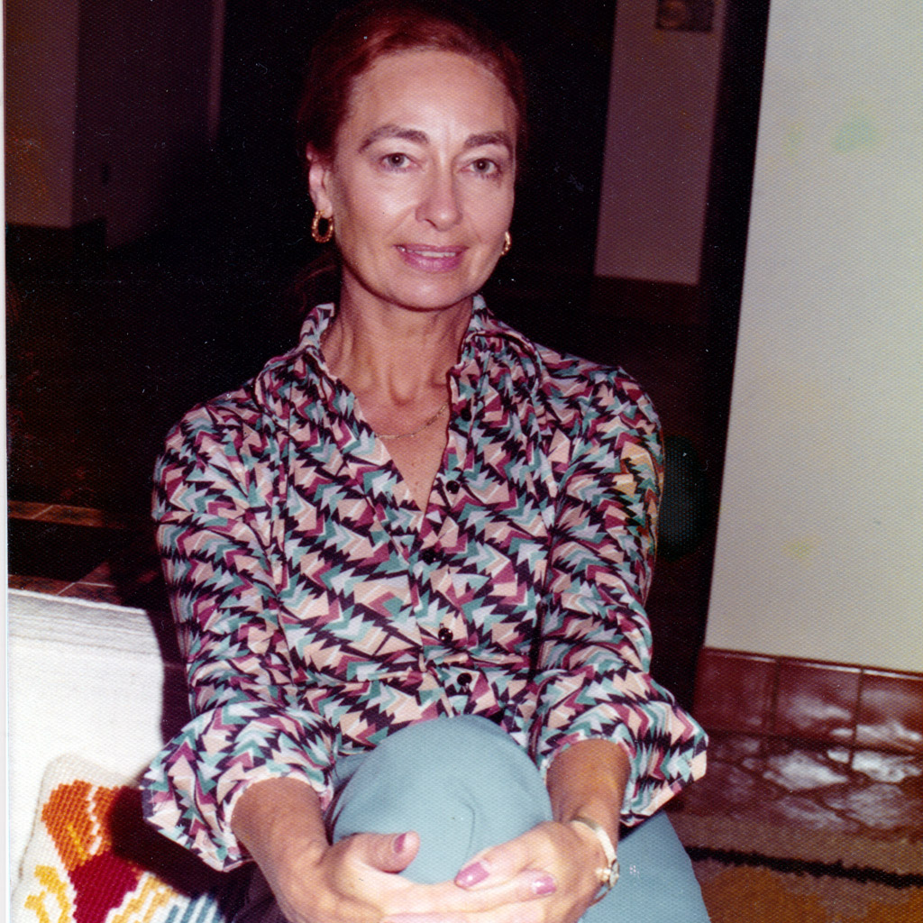 Mid-1970s Daphne Harrell in her Jacksonville home